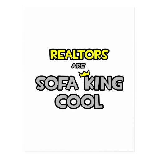 Realtors Are Sofa King Cool Postcard  Zazzle