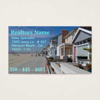 Realtors , Sales Specialist Business Card
