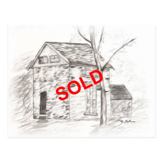 Realtors Say Sold with a card Postcard