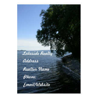 Realty Business-Cottage Country Lakes Large Business Cards (Pack Of 100)