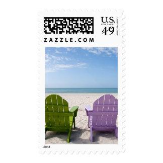 Realxation de la playa sellos