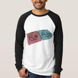Ream as Re Rhenium and Am Americium T-Shirt