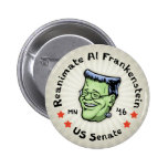 Reanimate Al Frankenstein 2 Inch Round Button