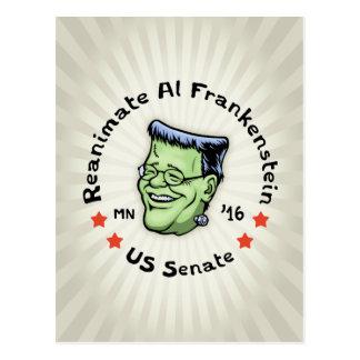 Reanimate Al Frankenstein Postcard