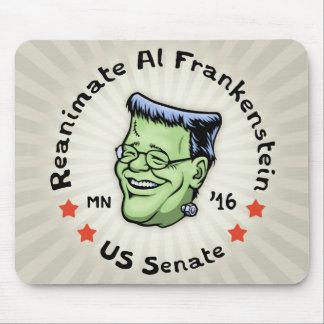 Reanimate el Al Frankenstein Alfombrilla De Ratones