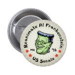 Reanimate el Al Frankenstein Pin