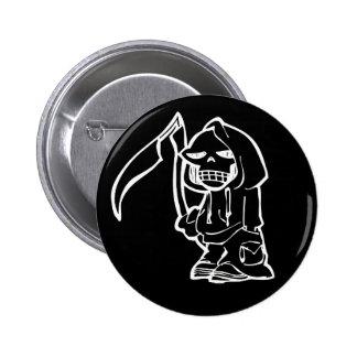 reaper pinback button