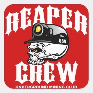 REAPER CREW SQUARE STICKER