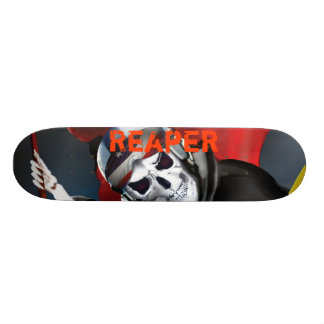 Reaper - customize the text skateboard deck