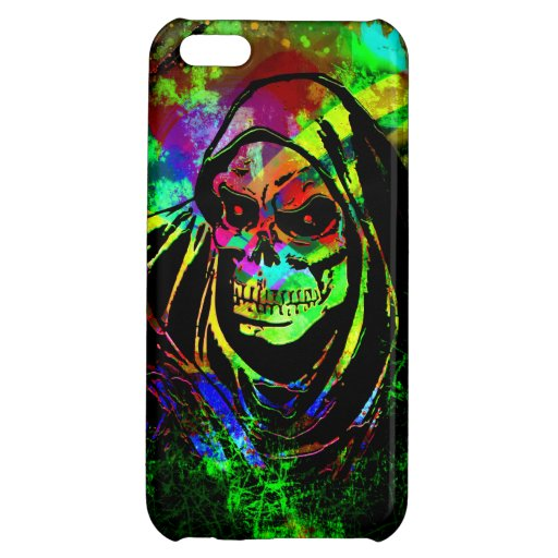 Reaper Grunge Case For iPhone 5C