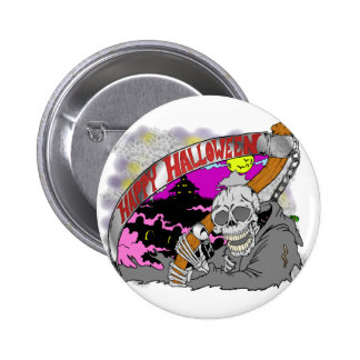 Reaper Halloween Button