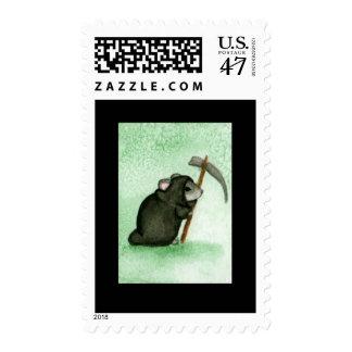 Reaper Hamster Postage (green)