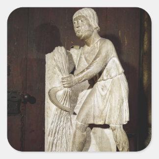 Reaper: June from a statuary Square Sticker