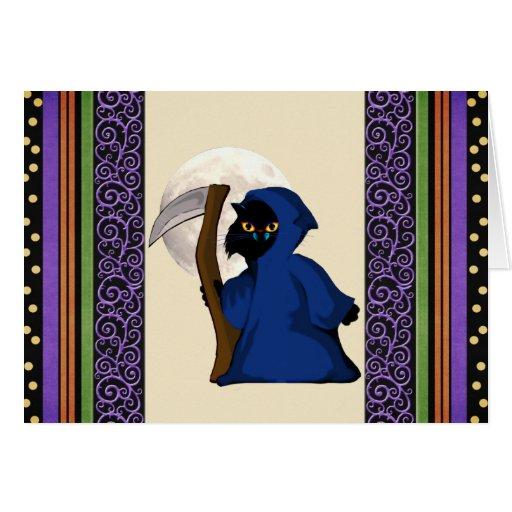 Reaper Kitty Card