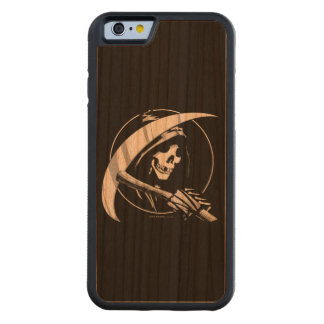 Reaper Madness Carved Cherry iPhone 6 Bumper Case