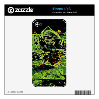 Reaper Of Aces iPhone 4S Skins