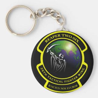 Reaper Two-Six Keychain