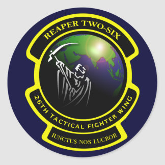 Reaper Two-Six Logo Sticker