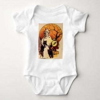 Reaper (Vintage Halloween Card) Baby Bodysuit
