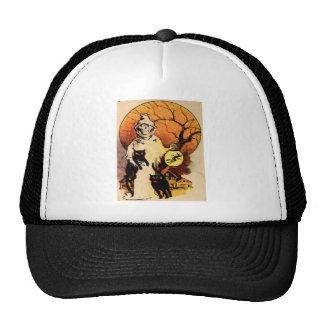 Reaper (Vintage Halloween Card) Trucker Hat