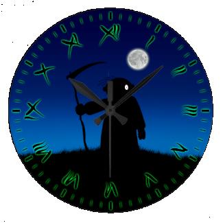 Reaper Wall Clocks