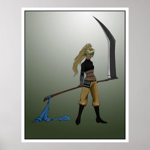 Reaper X-77842 I Poster
