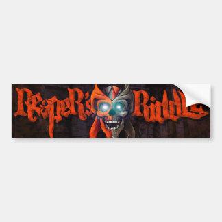 Reapers Bumper Sticker - Red