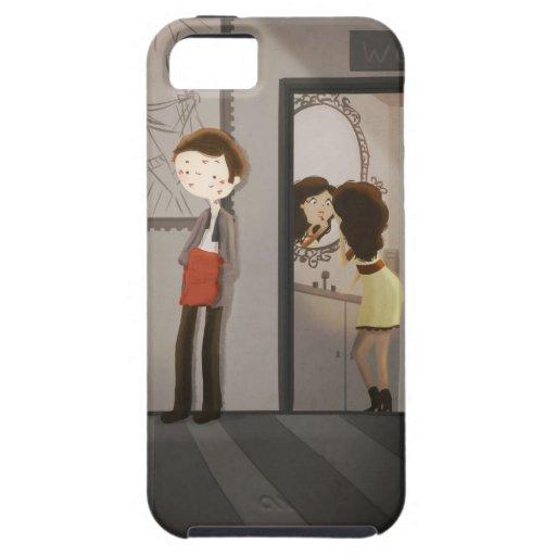 Reaplique la caja de Iphone iPhone 5 Case-Mate Cárcasa