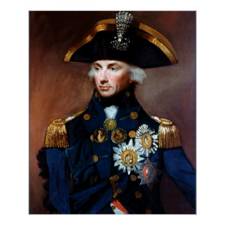 Rear Admiral ~ Sir Horatio Nelson Posters