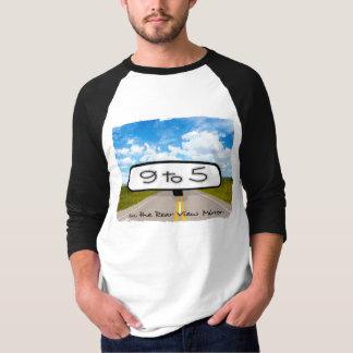 Rear View Mirror Basic 3/4 Sleeve Raglan T-Shirt