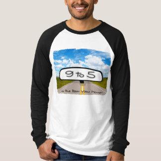 Rear View Mirror Basic Long Sleeve Raglan T-Shirt