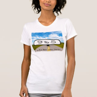 Rear View Mirror Ladies Casual Scoop T-Shirt