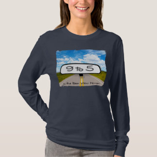 Rear View Mirror Ladies Long Sleeve T-Shirt