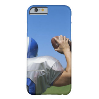 rear view of a football player throwing a barely there iPhone 6 case