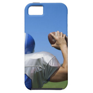 rear view of a football player throwing a iPhone 5 covers