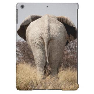 Rear view of elephant iPad air case