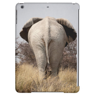 Rear view of elephant iPad air cover