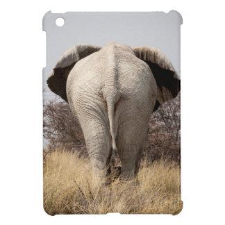 Rear view of elephant iPad mini case