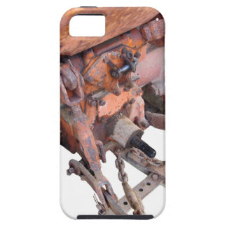 Rear view of old italian crawler tractor iPhone SE/5/5s case