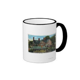 Rear View of the House of Seven Gables Coffee Mugs