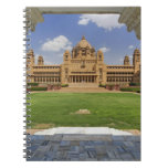 Rear view of Umaid Bhawan Palace hotel, Jodjpur, Spiral Note Book