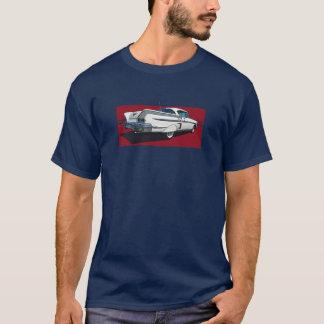 Rear view of white 1958 Chevy Impala T-Shirt