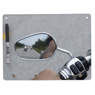 Rear View Riders Dry Erase Board With Keychain Holder