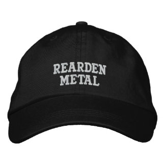 Rearden Metal Embroidered Hats