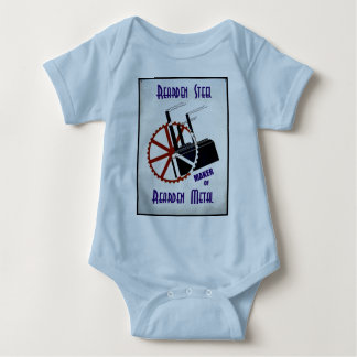 Rearden Steel Baby Bodysuit