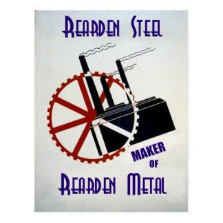Rearden Steel Postcard