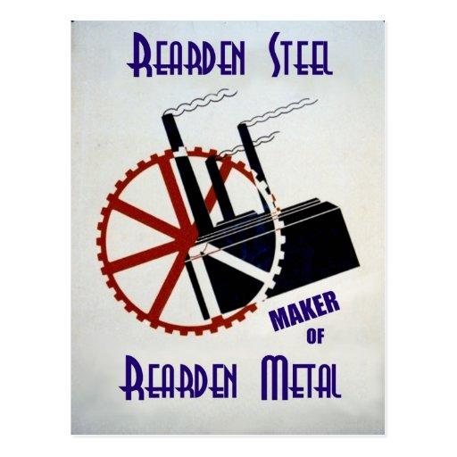 Rearden Steel Post Cards