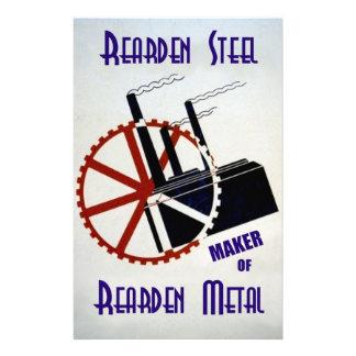Rearden Steel Custom Stationery