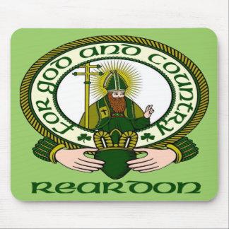 Reardon Clan Motto Mouse Pad