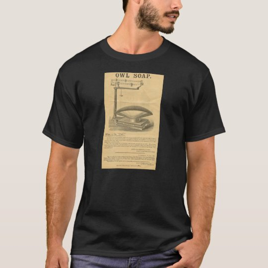 Reardon's Owl Soap Vintage Advertisement T-Shirt